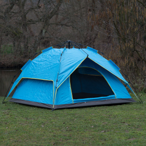 Blue Pop Up Survival Tent