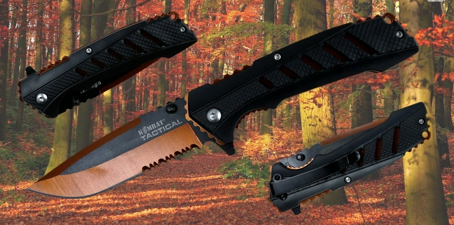Adventure Survival Lock Knife