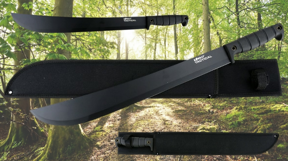 Latin Style Tactical Machete Banner