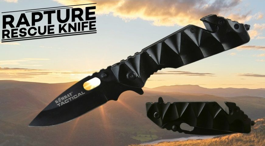 Raptor Rescue Lock Knife Banner
