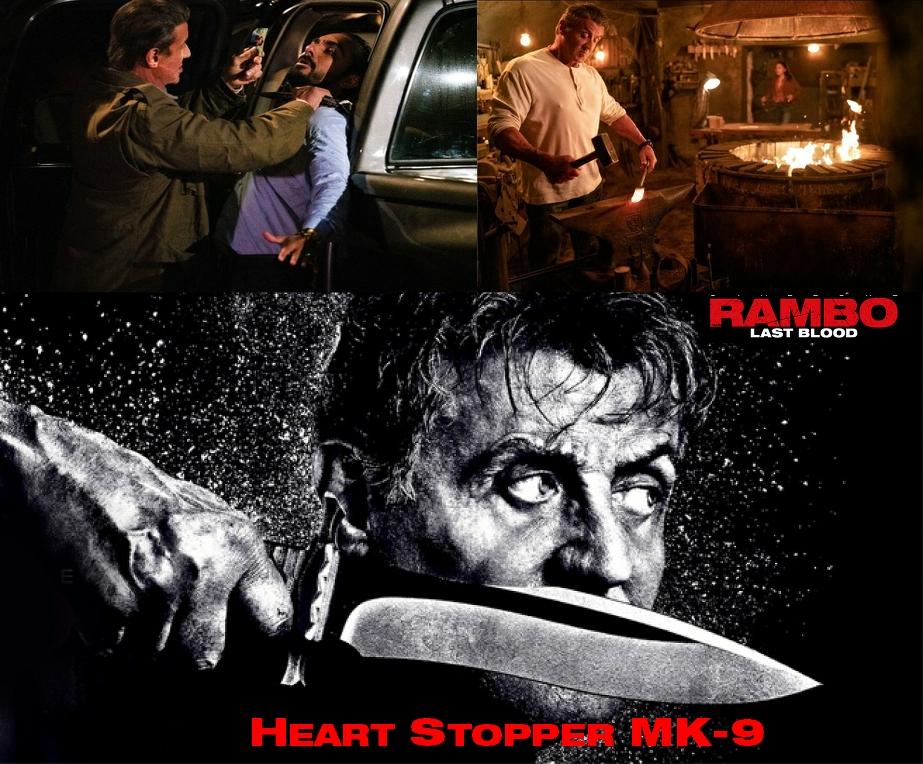 Heart Stopper Rambo Knife