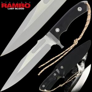 Rambo Black Bowie MK-8 Knife