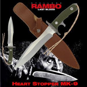 Rambo Last Blood Heart Stopper Knife Mk-9
