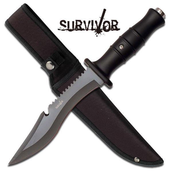 12 Inch Survivor Outdoor Fixed Blade