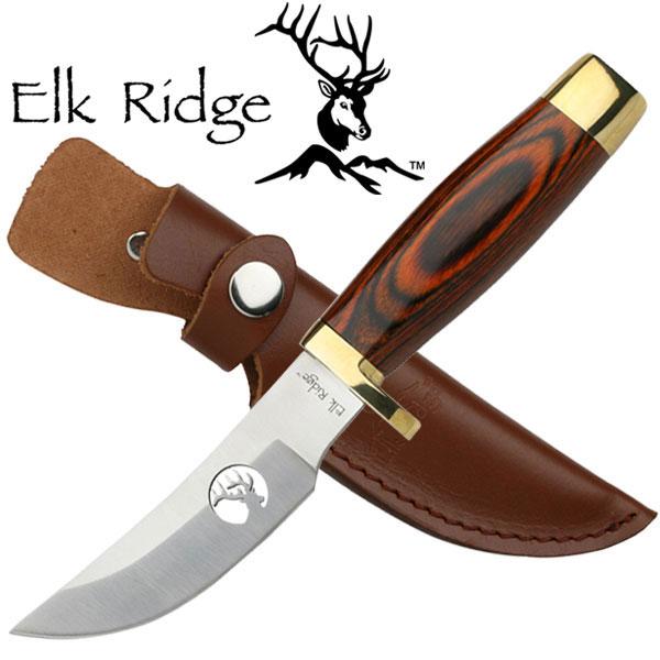 "Elk Ridge Fixed Blade Knife 7.5"" Overall"