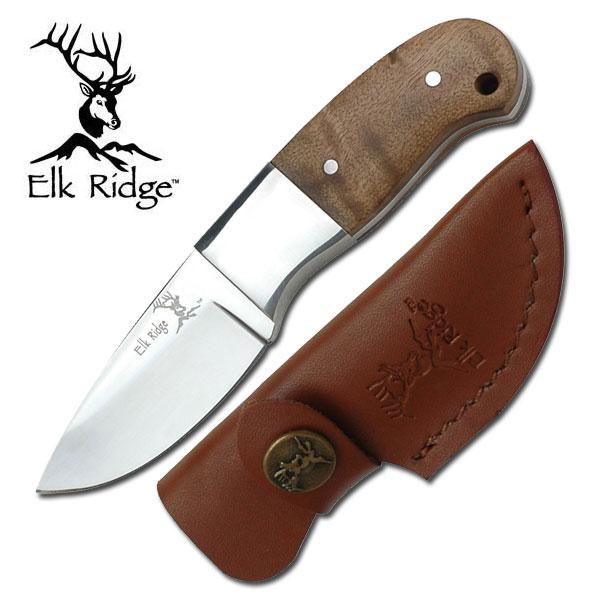 "Elk Ridge Fixed Blade Knife 5"" Overall"