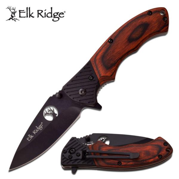 "Elk Ridge Folding Knife 4.5"" Closed"