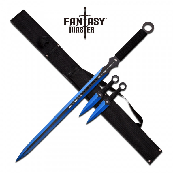 "Fantasy Master Fantasy Sword 28"" And 6"" Overall"