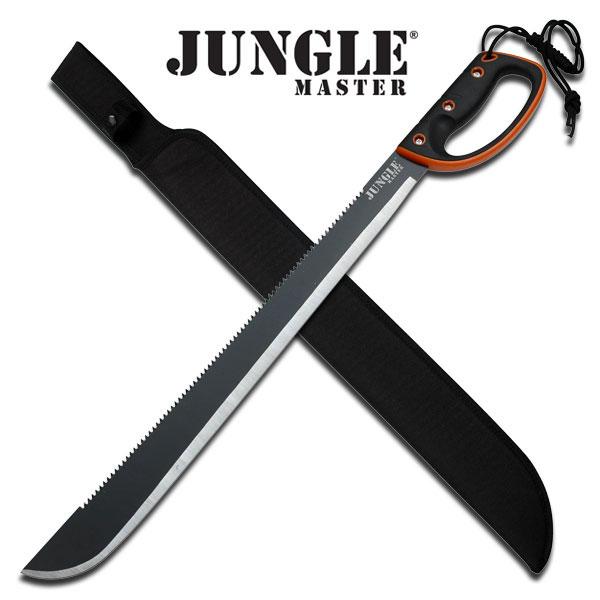 """Jungle Master Machete 28"""" Overall"""
