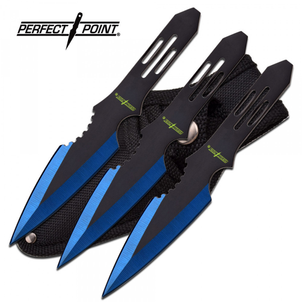 """Perfect Point Throwing Knife Set 5.5"""" Overall"""