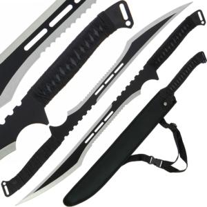 Golan Black Ninja Twin Sword Set