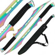 Golan Rainbow Ninja Twin Sword Set