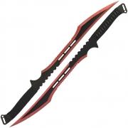 Golan Red Ninja Twin Sword Set