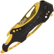 Golan Black Gold Folding Knife