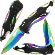 Golan Rainbow Folding Knife