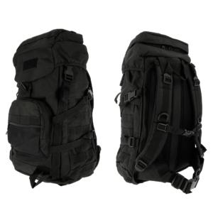 Golan™ 55L 800D Tactical Rucksack / Stuff-Sack - Black