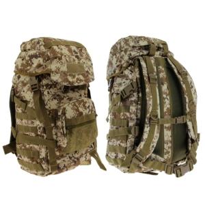 Golan™ 55L 800D Tactical Rucksack / Stuff-Sack - Desert Digital Camo