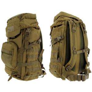 Golan™ 55L 800D Tactical Rucksack / Stuff-Sack - Desert Sandstone