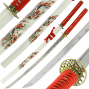 Samurai Handmade Single Sword 'Koi'